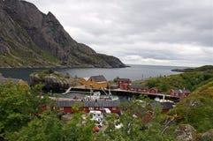Noorwegen, fjord toneel Royalty-vrije Stock Afbeeldingen