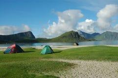 Noorwegen, fjord toneel Royalty-vrije Stock Fotografie
