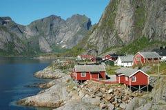 Noorwegen, fjord toneel Royalty-vrije Stock Foto's