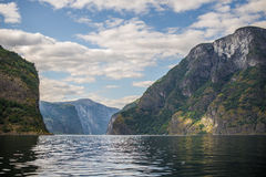 Noorwegen. Fjorden. Flam Stock Foto's