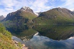 Noorwegen - Jotunheimen Stock Afbeelding