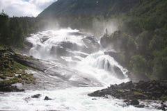 Noorwegen - Kinsavik Royalty-vrije Stock Afbeeldingen