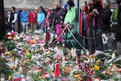 Noorwegen na aanvallen Royalty-vrije Stock Foto's