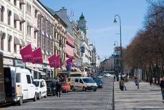 Noorwegen. Oslo royalty-vrije stock afbeelding