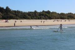 Noosa Beach royalty free stock image