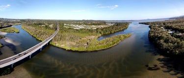 Noosa geht Sumpfgebiete voran Stockfotos