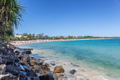 Noosa Heads Beach Royalty Free Stock Images