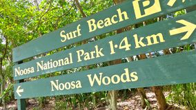 Noosa Heads Scenes Royalty Free Stock Images