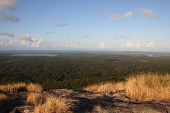 Noosa from Mount Cooroy Royalty Free Stock Image