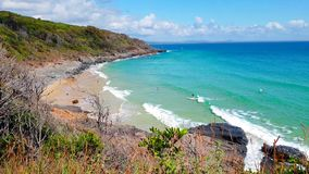Noosa Nationaal Park op de Zonneschijnkust, Queensland, Australië stock fotografie