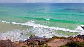 Noosa Nationaal Park op de Zonneschijnkust, Queensland, Australië stock foto's