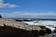 Noosa National Park. Beautiful landscape rocky, Noosa Heads, Sunshine Coast, Australia stock photo