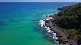 Noosa National Park on the Sunshine Coast, Queensland, Australia stock photos
