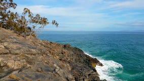 Noosa National Park on the Sunshine Coast, Queensland, Australia stock image
