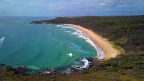 Noosa National Park on the Sunshine Coast, Queensland, Australia royalty free stock photo