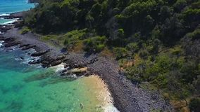 Noosa nationalpark på solskenkusten, Queensland, Australien royaltyfri fotografi