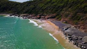 Noosa nationalpark på solskenkusten, Queensland, Australien arkivbild