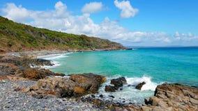 Noosa park narodowy na światła słonecznego wybrzeżu, Queensland, Australia zdjęcie stock
