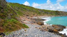 Noosa park narodowy na światła słonecznego wybrzeżu, Queensland, Australia obrazy stock