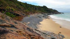 Noosa park narodowy na światła słonecznego wybrzeżu, Queensland, Australia obraz royalty free