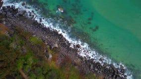 Noosa park narodowy na światła słonecznego wybrzeżu, Queensland, Australia obraz stock