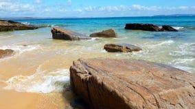 Noosa park narodowy na światła słonecznego wybrzeżu, Queensland, Australia zdjęcia royalty free