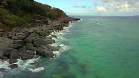 Noosa park narodowy na światła słonecznego wybrzeżu, Queensland, Australia zdjęcie royalty free