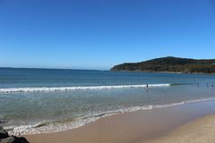 Noosa plaża zdjęcia stock