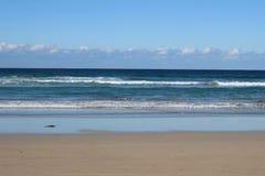 Noosa plaży ocean fotografia stock