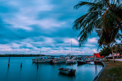 Noosa River Sunset Royalty Free Stock Image