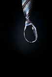 Noose. Symbolic picture with mans hand hanging in the noose Stock Photos