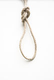Noose made from rope Royalty Free Stock Photos