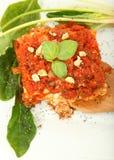 Nootachtige Gorgonzola broodje-UPS Royalty-vrije Stock Afbeeldingen