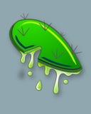Nopal cartoon drawing Stock Photo