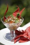 Nopales ceviche Royalty-vrije Stock Afbeeldingen