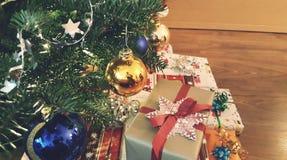 Nopeople del primer de la decoración de la Navidad Fotografía de archivo