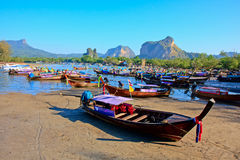Nopparat Thara plaża Zdjęcia Stock