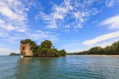 Nopparathara острова на krabi Стоковое фото RF