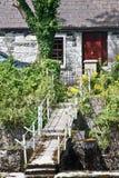 Nora Barnacle Way, maintenant hors d'usage, Galway, Irlande photographie stock