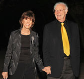 Nora Ephron and Nick Pileggi Stock Photography