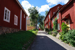 Nora in Sweden A traditional Swedish town royalty free stock photography