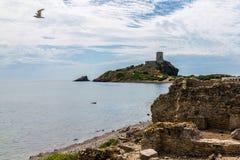 Nora Tower et Ruines image libre de droits