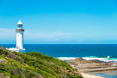 Free Norah Head Lighthouse, Australia Royalty Free Stock Photo - 64747535