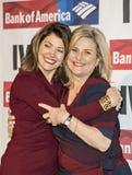 Norah O'Donnell och Cynthia McFadden Fotografering för Bildbyråer