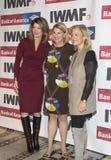 Norah O'Donnell, Sally Susman och Hilary Rosen royaltyfria bilder