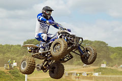 NoraMX quad racing Stock Photos