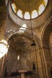 Noravank修道院,亚美尼亚- 2017年9月18日:内部insid 免版税库存照片