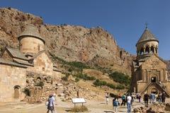 Noravank修道院,亚美尼亚- 2017年9月18日:著名Noravan 库存图片
