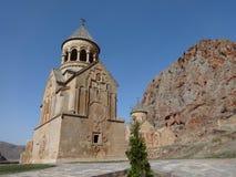 Noravank, 13世纪亚美尼亚修道院 免版税库存图片