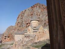 Noravank, 13世纪亚美尼亚修道院 库存图片